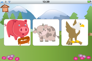 iphone app for kids - moo for kids game