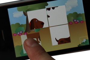 iPhone app for Kids - Animal Tiles