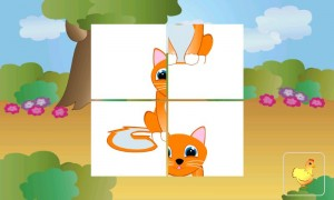 animal tiles for kids - wp7 app for kids