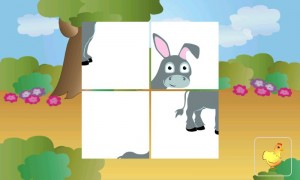 animal tiles for kids - windows phone 7 app for kids