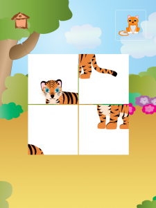 Animal Tiles for Kids - Tiger - iPad apps for kids