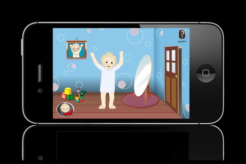friendy ipad app - kids feel better